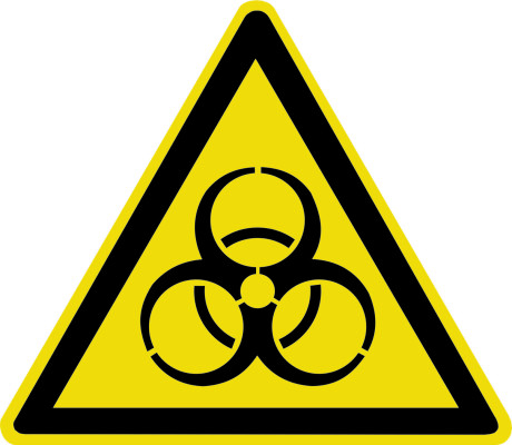 Осторожно. Биологическая опасность (инфекционные вещества) W16