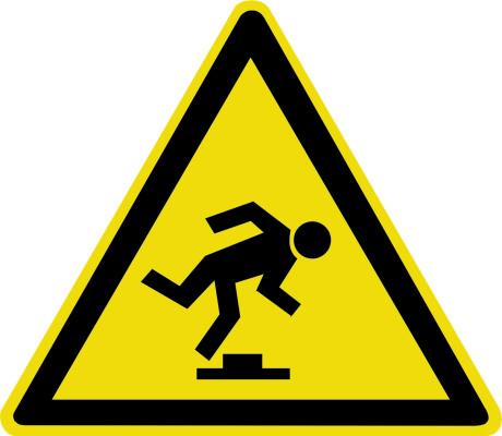 Осторожно. Малозаметное препятствие W14