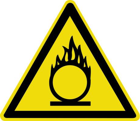 Пожароопасно. Окислитель W11