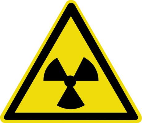 Опасно. Радиоактивные вещества или ионизирующее излучение W05